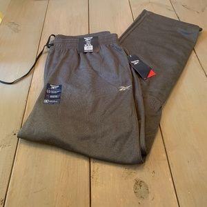 Reebok Men's Knit/Fleece Joggers -Size XXL gray
